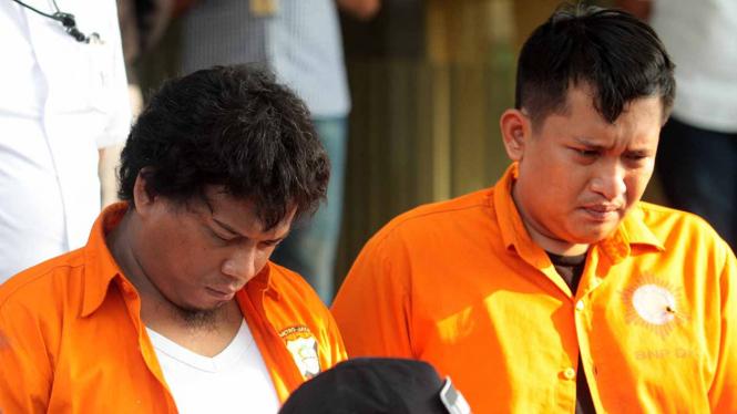 Pelaku Kasus penembakan di DPR