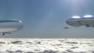 Ilustrasi misi di Planet Venus.