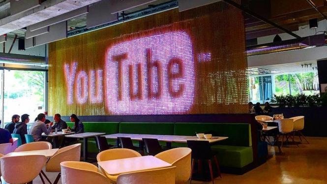 Suasana kantor YouTube