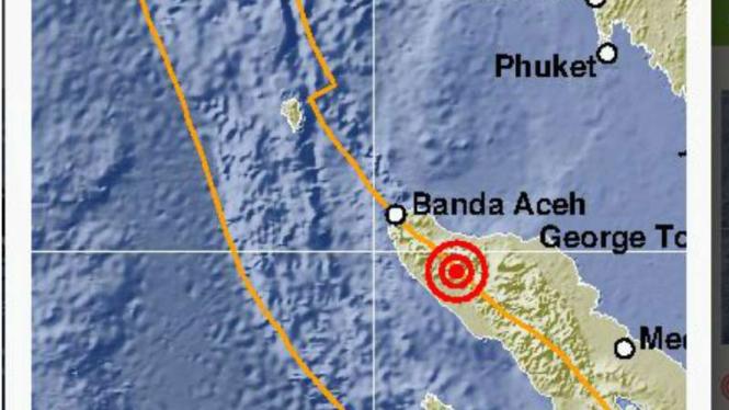 Gempa guncang Aceh