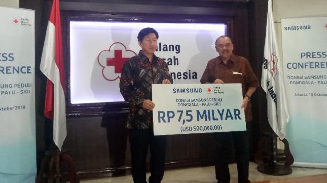 Samsung Electronics Indonesia donasi bencana di Sulawesi Tengah