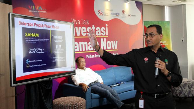 VIVA Talk Investasi Jaman Now