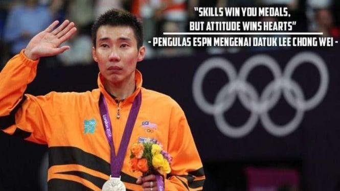 Legenda bulutangkis Malaysia Lee Chong Wei
