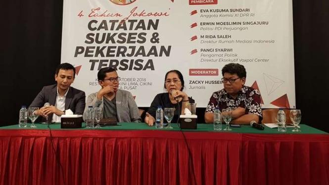 Politisi PDI Perjuangan, Eva Kusuma Sundari