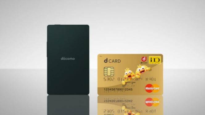 KY-O1L, ponsel setipis kartu kredit buatan Kyocera