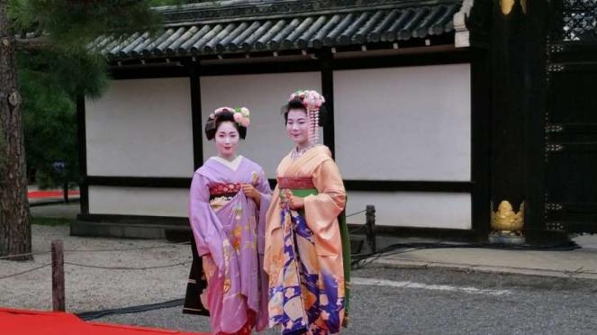 Maiko di Kyoto