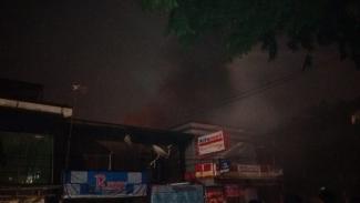 Kebakaran di Balai Pustaka Jakarta Timur