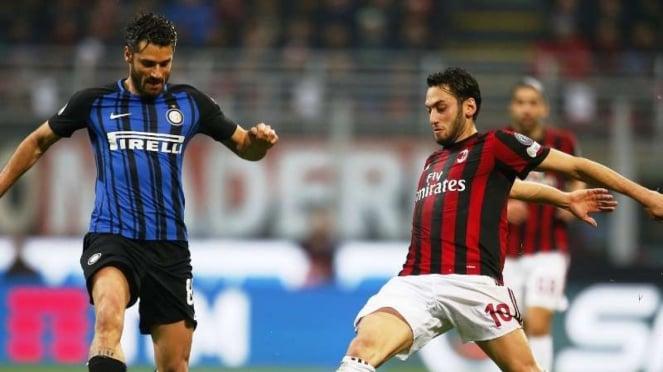 Pertandingan Inter Milan kontra AC Milan di ajang Serie A