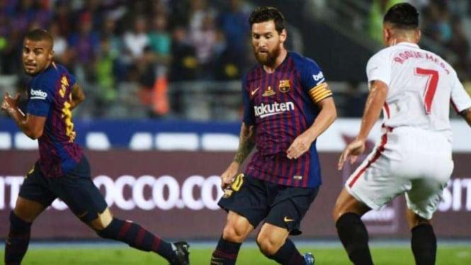 Lawan Betis, Barcelona Kembali Diperkuat Messi