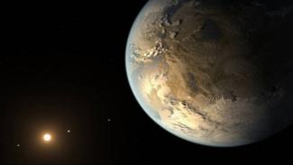 Ilustrasi Planet Pi.