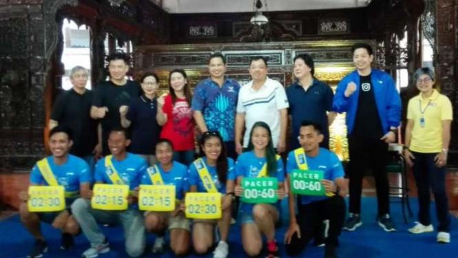 Ajang Tiket.com Kudus Relay Marathon