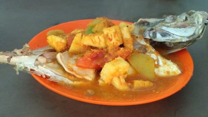 Icip Icip Kuliner Batam Ikan Asam Pedas Tiam Huat Viva