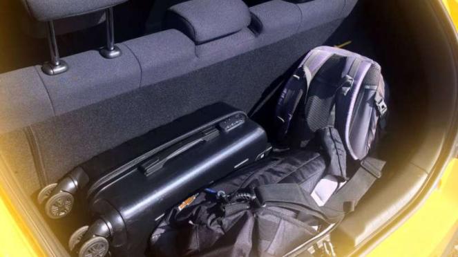 Bagasi All New Honda Brio