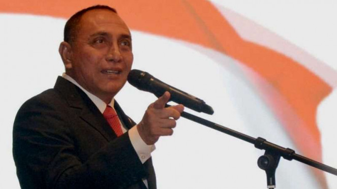 Ketua Umum PSSI, Letjen TNI (Purn) Edy Rahmayadi