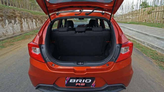 Bagasi All New Honda Brio