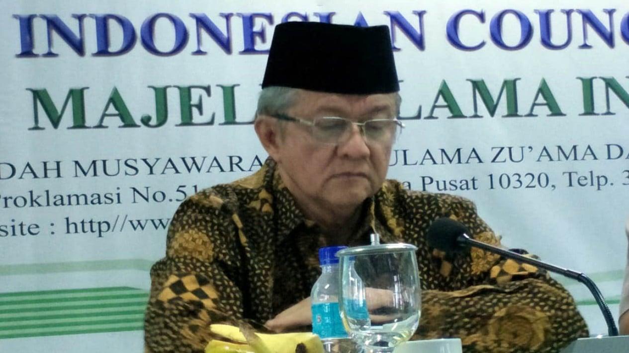 Anwar Abbas, Wakil Ketua Umum MUI periode 2020-2025.
