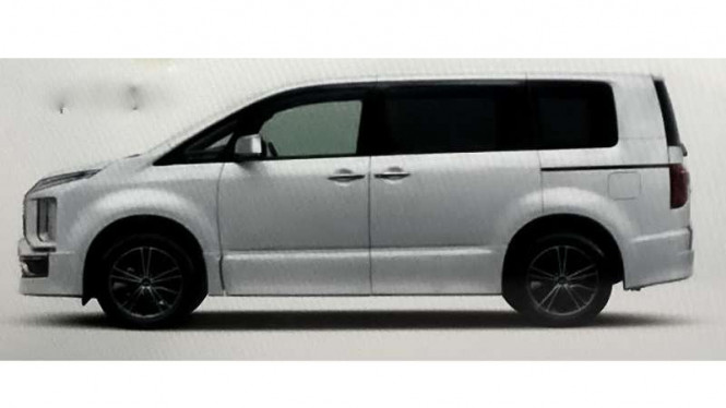 Bocoran Mitsubishi Delica baru