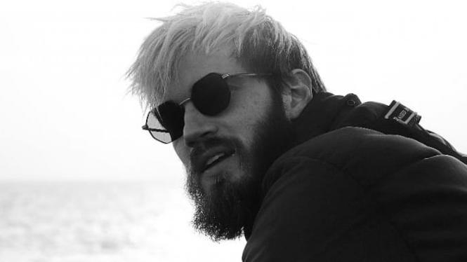 YouTuber Felix Kjellberg atau PewDiePie