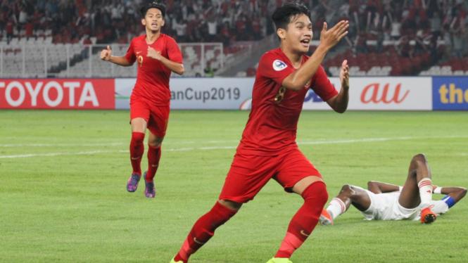 Witan Gol Indonesia U19 vs UEA U19
