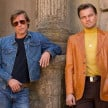 Brad Pitt dan Leonardo DiCaprio di film Once Upon a Time in Hollywood