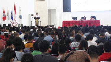 Talkshow Pancasila Goes to Campus pada tanggal 24 Oktober 2018