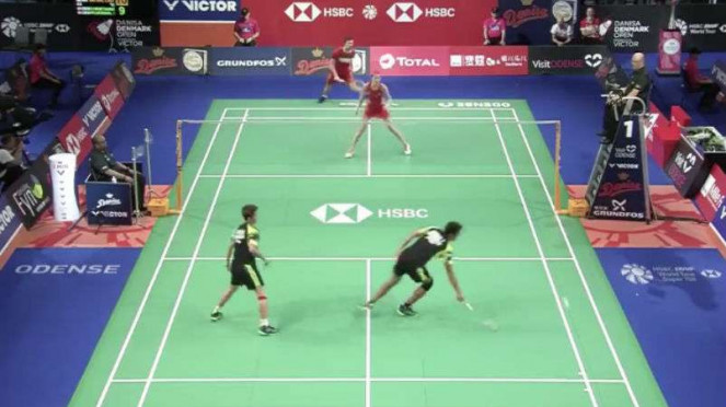 Mathias Christiansen/Christina Pedersen vs Owi/Butet