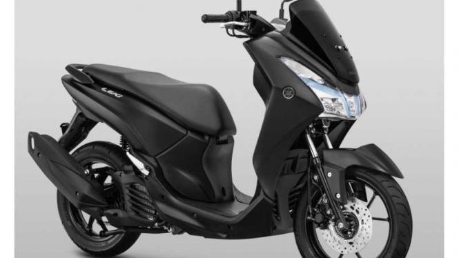 Yamaha Lexi warna Matte Black