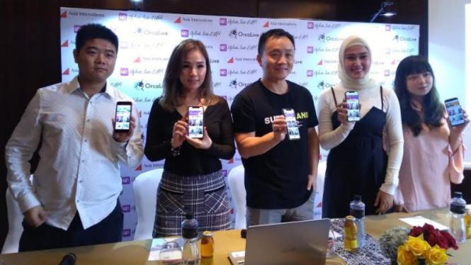 Platform live streaming UpLive tersedia di Indonesia