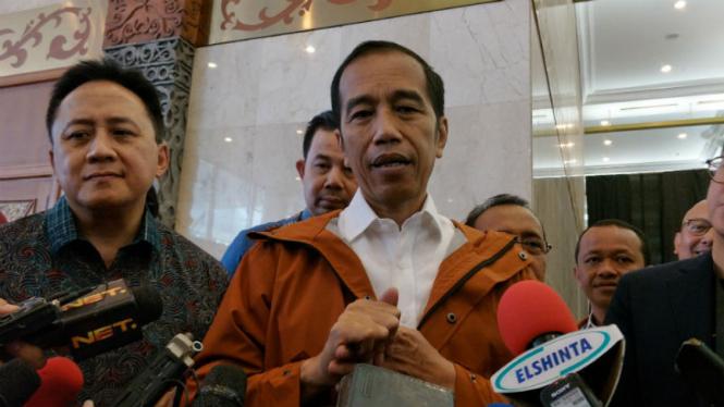 Jokowi: Enggak Pernah ke Pasar Kok Komentari Harga Bahan Pokok