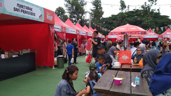 100 Tenant Kuliner Siap Manjakan Lidah Foodies Di Bandung Viva