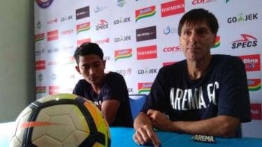 Pelatih Arema FC, Milan Petrovic