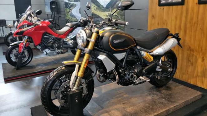 Motor baru Ducati di Indonesia