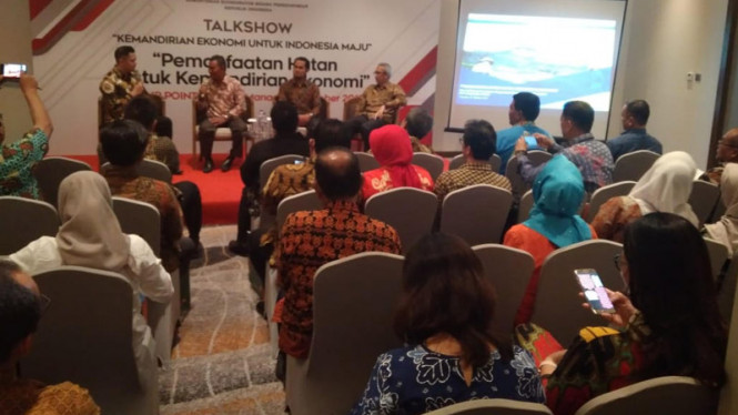 Talkshow Kemandirian Ekonomi untuk Indonesia Maju