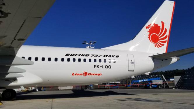 Pesawat Lion Air jenis Boieng 737 MAX 8