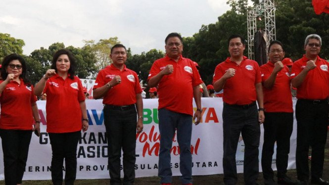 Pekan Kerja Nyata (PKN) Revolusi Mental 2018 yang diselenggarakan di Kota Manado
