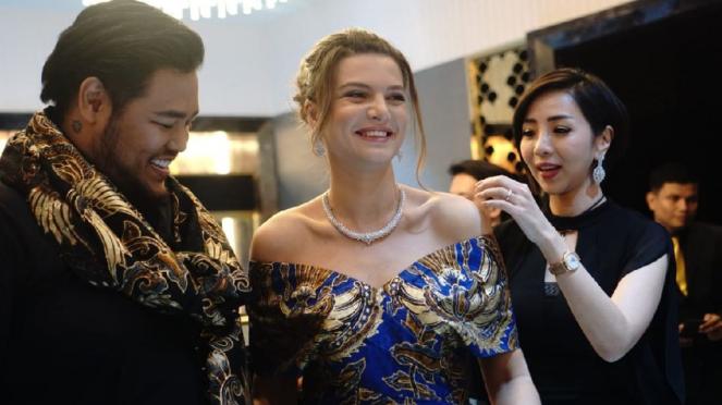 Ivan Gunawan dan Putri Kristine Bagration Mukhrani dari Georgia