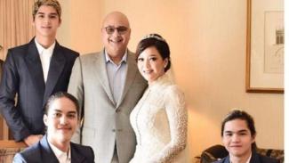 Foto pernikahan Maia Estianty dan Irwan Mussry