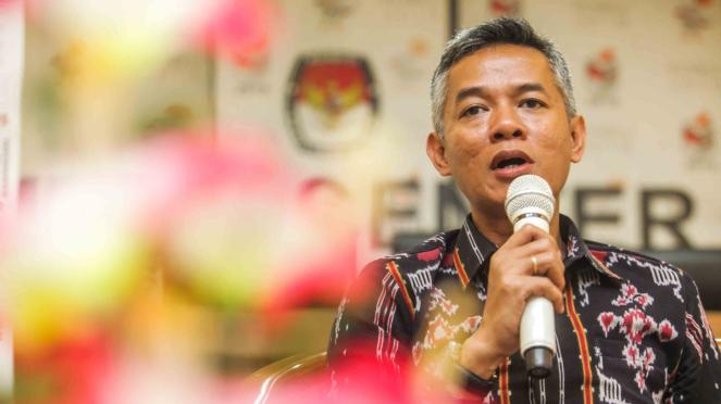 Komisioner Komisi Pemilihan Umum (KPU), Wahyu Setiawan