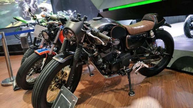 Kawasaki W175 modifikasi