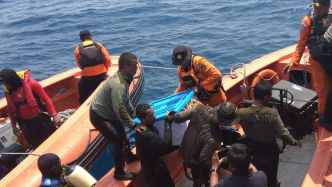Kapal Pertamina Cari Sinyal 'ping' Cvr Lion Air Jt 610