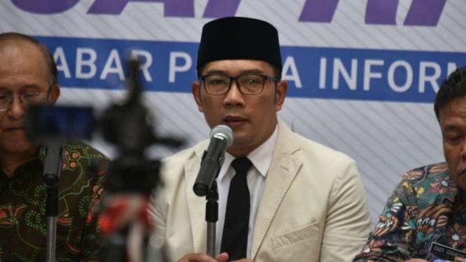 Ridwan Kamil Siapkan Rp50 Miliar Tata Situs Megalitikum Gunung Padang