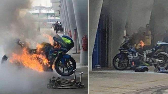 Motor Pembalap Suzuki, Alex Rins
