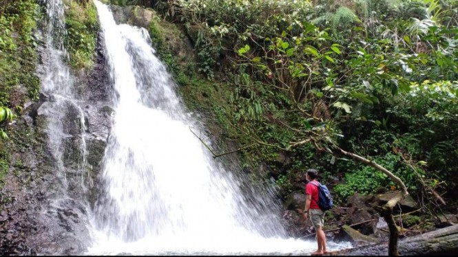 Curug Bidadari, Pesona Keindahan Alam Di Kaki Gunung Menir