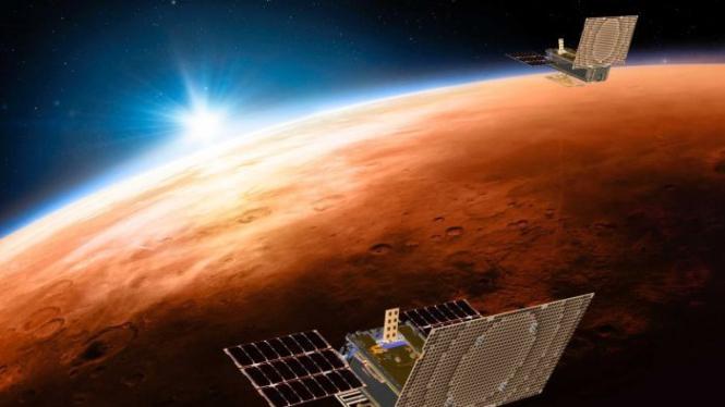 Satelit Mini Seukuran Kotak Sepatu Diluncurkan Ke Mars