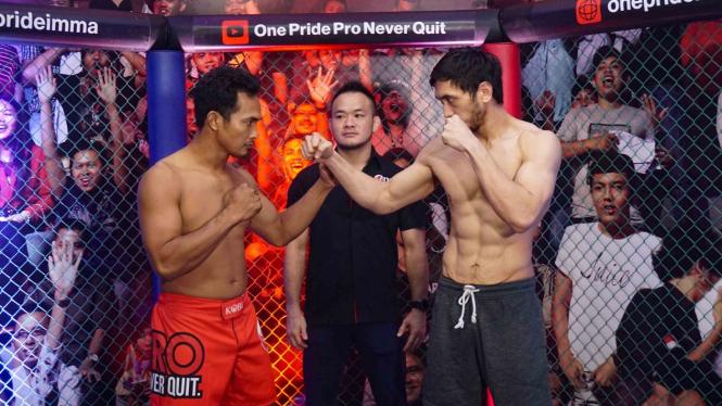 Timbang Badan Jelang One Pride Fight Night 24