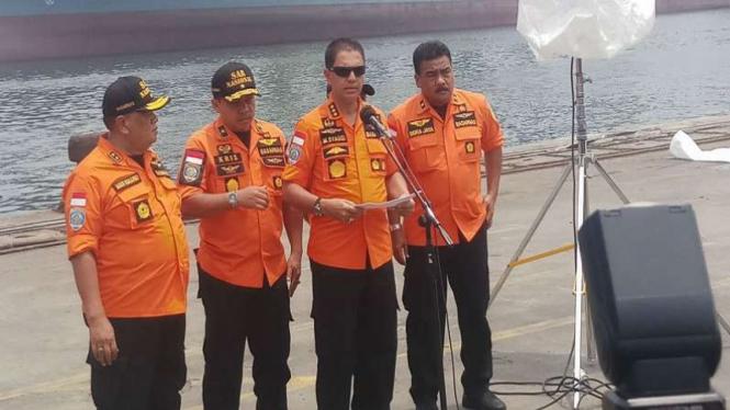 Basarnas Perpanjang Tiga Hari Masa Evakuasi Insiden Lion Air Jt 610