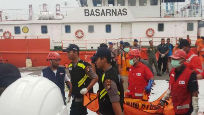 Empat Kantong Jenazah Korban Lion Air Dikirim Lagi Ke Rs Polri