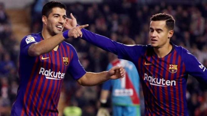 Suarez Impresif, Barcelona Libas Rayo Vallecano