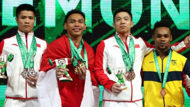 Eko Yuli Sabet Emas Dan Pecah Rekor Kejuaraan Dunia Angkat Besi