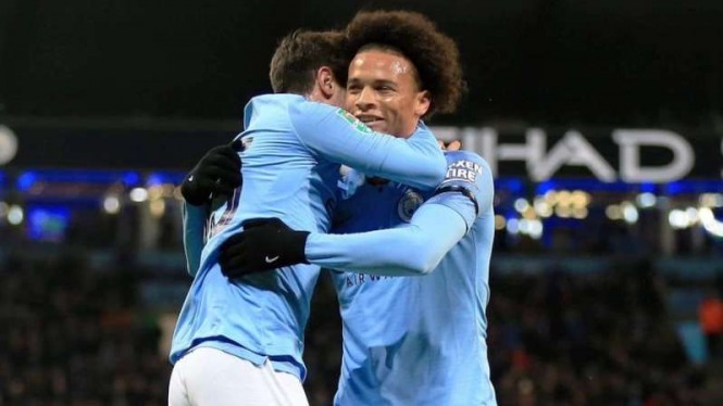 Winger Manchester City, Leroy Sane.
